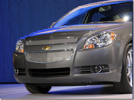 2008 Chevy Malibu front grill
